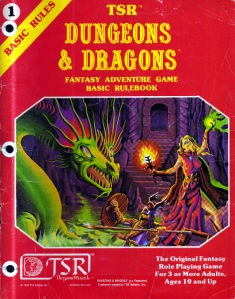 Dungeons and Dragons 1981, by TSR